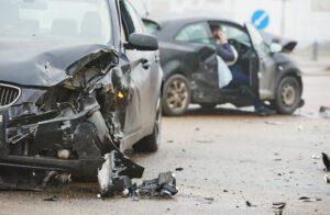 car crash on street