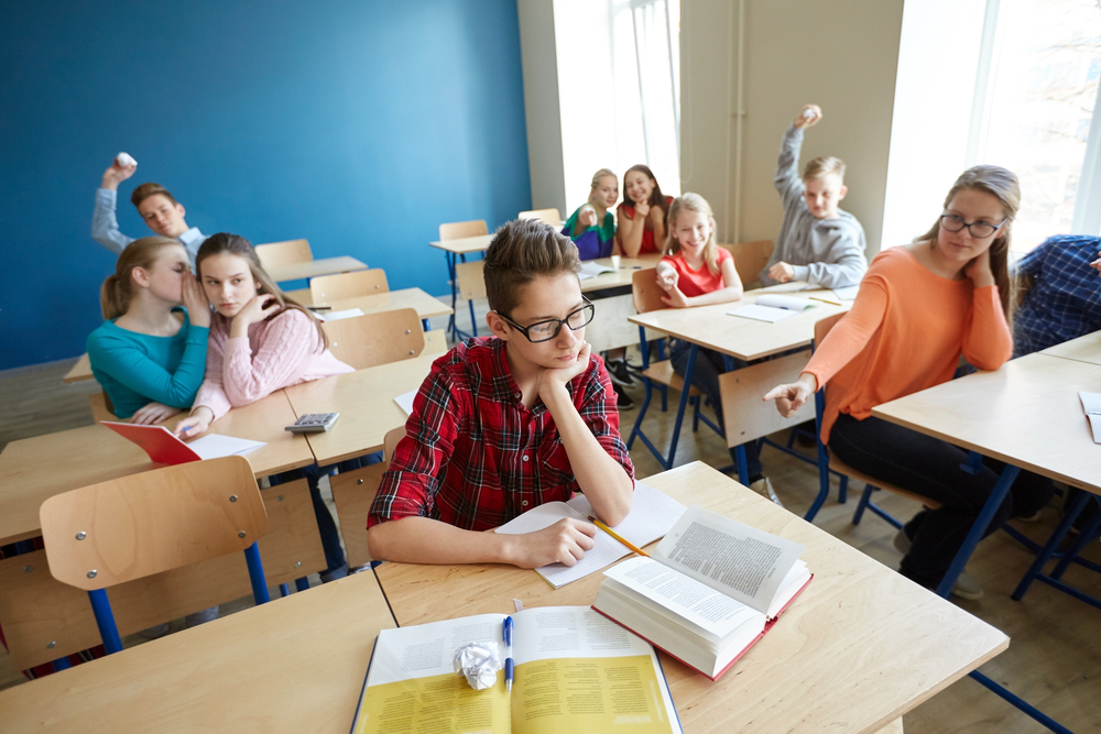 bullying in a classroom